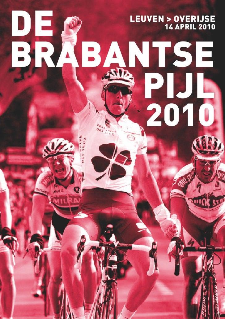DE   LEUVEN > OVERIJSE            14 APRIL 2010    BRABANTSE       PIJL         2010