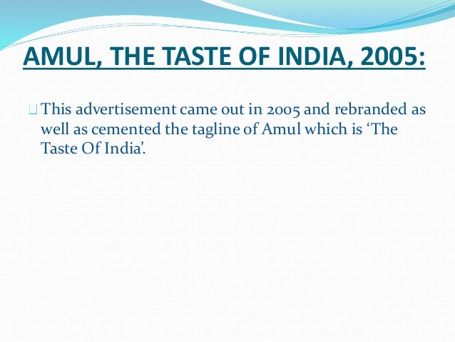 tvc campaign for amul milk study Product name: amul kool milk shaake: description: sterilised homogenised dairy based drink amul kool millk shaake is the balanced blend of best quality fruit solids.
