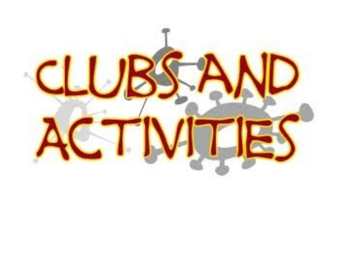 Amuse Bouche:What clubs/organizations haveyou been apart of?What types of activities didyou do?If you were to join aclub/o...