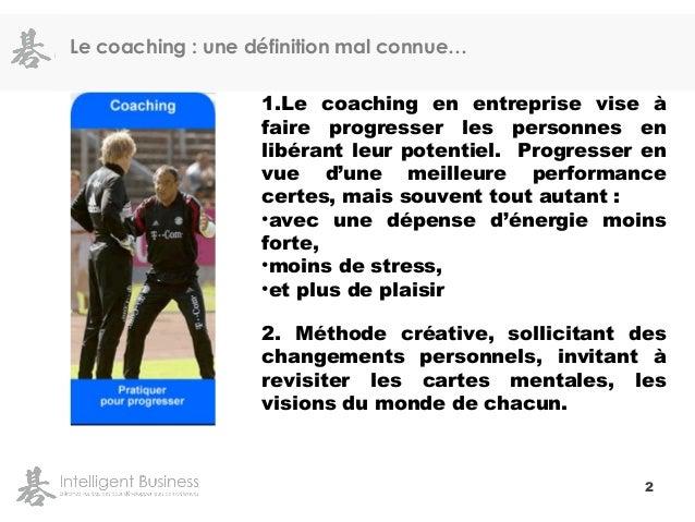 Coaching de Dirigeants par Tristan Ebel Slide 3
