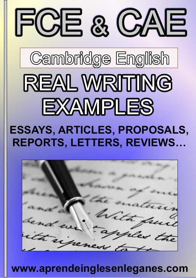 Fce cae real writing examples aprendeinglesenleganes essays articles proposals reports letters reviews 2 fce cae real writing examples spiritdancerdesigns Images