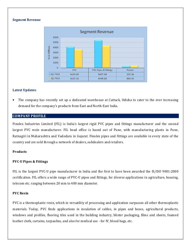 Finolex Ind: Q1 Net profit ramps up by 121 68%