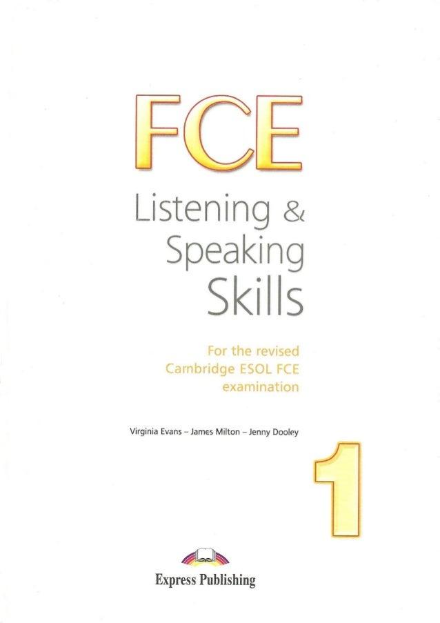 fce listening speaking skills sb listening speaking skills