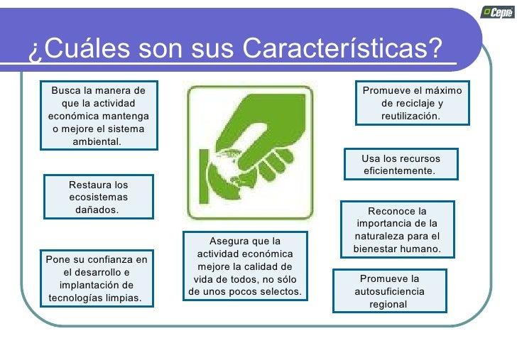 Desarrollo sostenible for Cuales son las caracteristicas de un mural