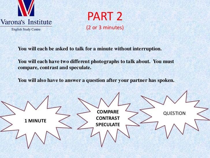 Fce speaking part Slide 3