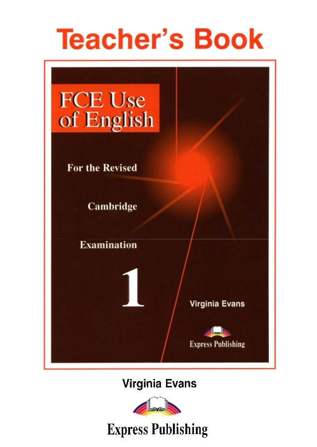 Fce Use Of English 1 Teacher S Book