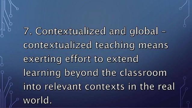 TEACHING APPROACHES &