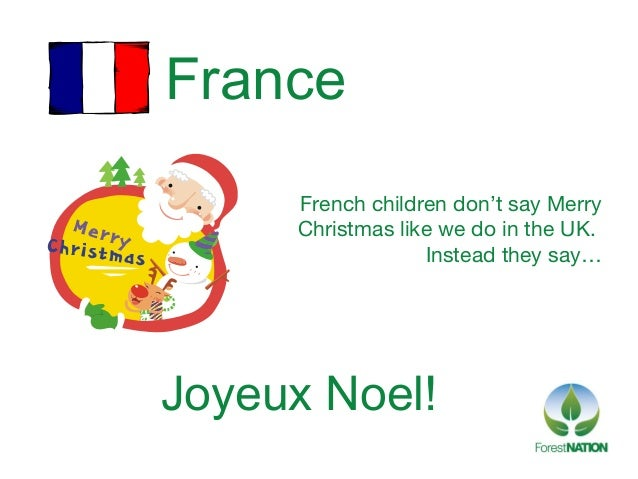 french children dont say merrychristmas