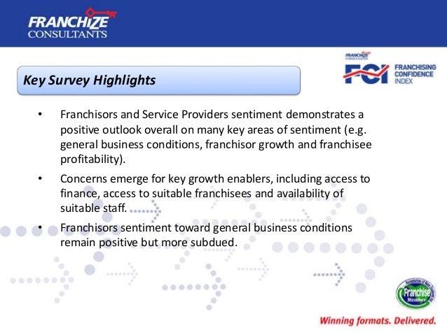 New Zealand Franchising Confidence Index   April 2017 Slide 3