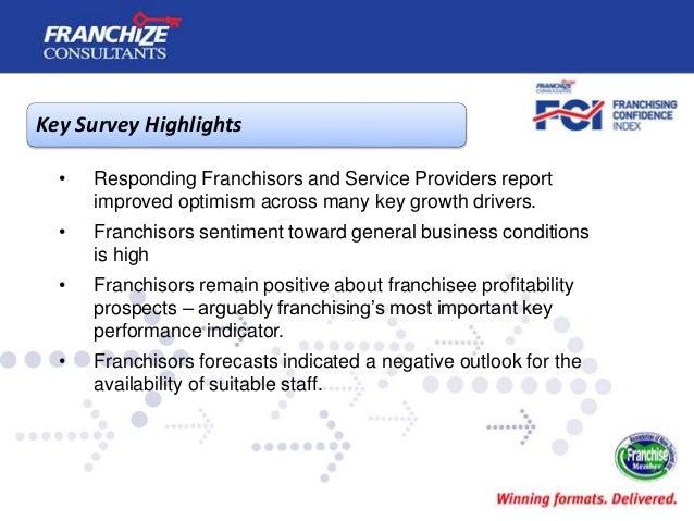 New Zealand Franchising Confidence Index | January 2015 Slide 3