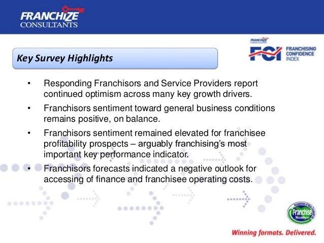 New Zealand Franchising Confidence Index | January 2017 Slide 3