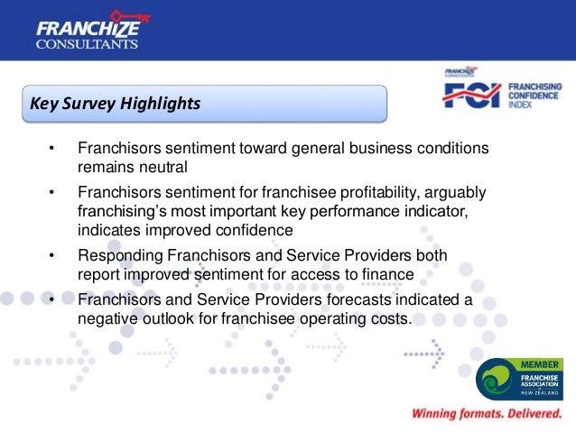 New Zealand Franchising Confidence Index | January 2018 Slide 3