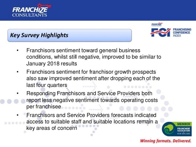 New Zealand Franchising Confidence Index   January 2019 Slide 3