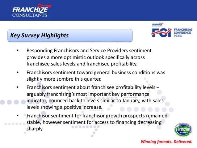 New Zealand Franchising Confidence Index | July 2016 Slide 3