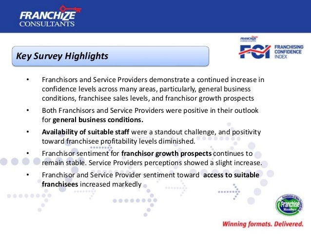 New Zealand Franchising Confidence Index | July 2017 Slide 3