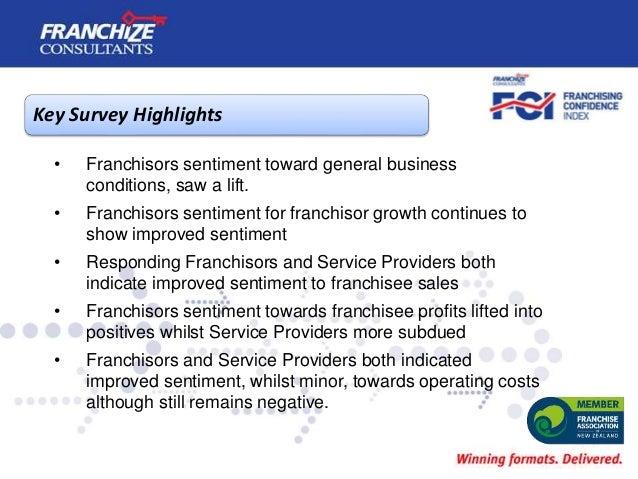 New Zealand Franchising Confidence Index | July 2019 Slide 3