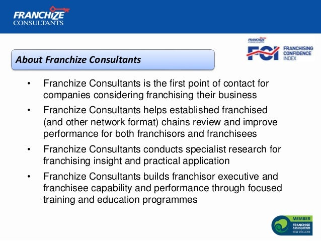 New Zealand Franchising Confidence Index   October 2018 Slide 2