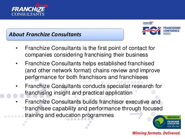 New Zealand Franchising Confidence Index | October 2019 Slide 2