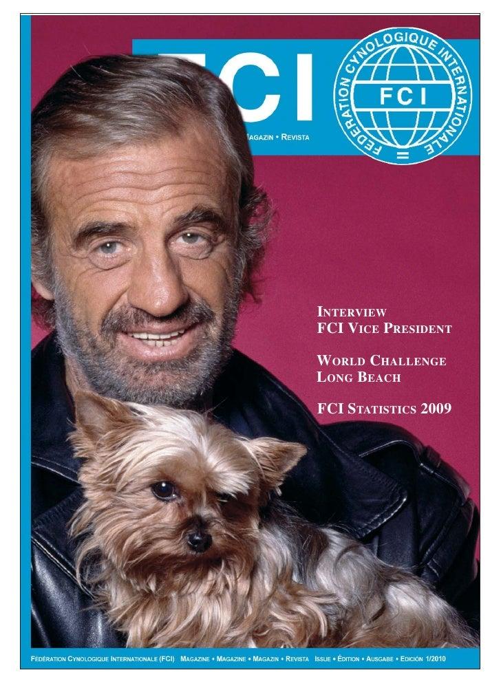 INTERVIEW FCI VICE PRESIDENT  WORLD CHALLENGE LONG BEACH  FCI STATISTICS 2009