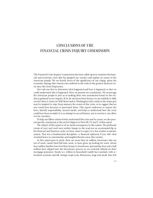 financial turmoil questions percentage findings to be able to essays