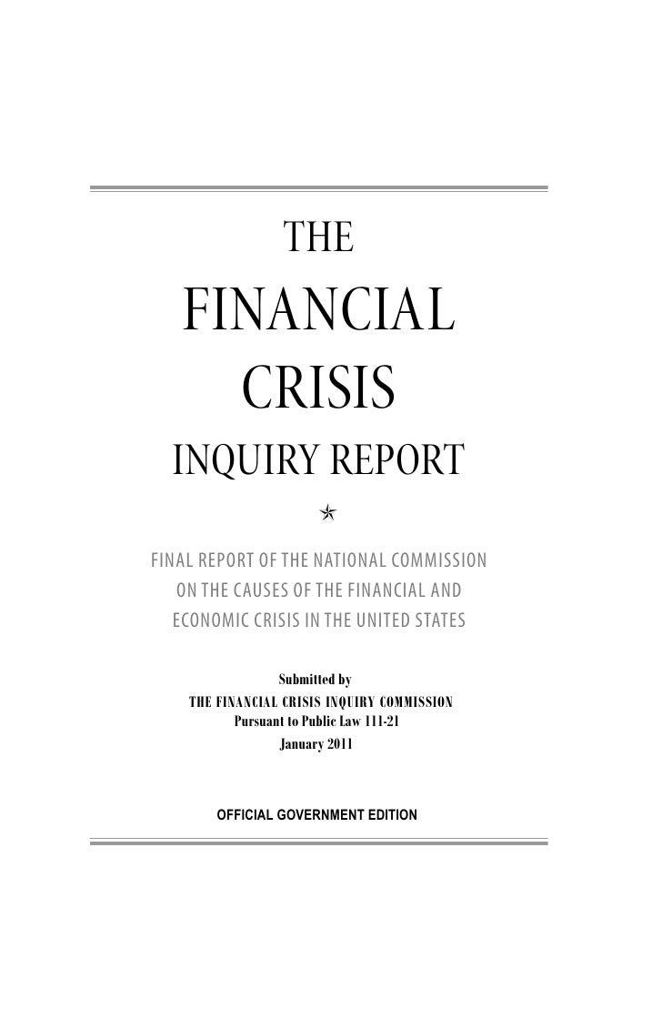Fcic final report_full Slide 3