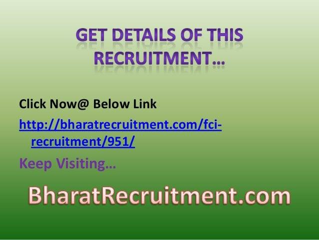 FCI Jobs 2015-2016 Portal In India Online Notification For Graduates Recruitment