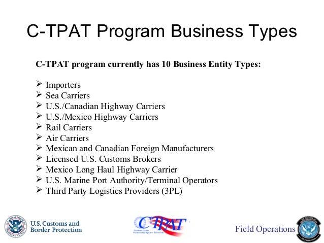 c-tpat fciq presentation 20121018 updated
