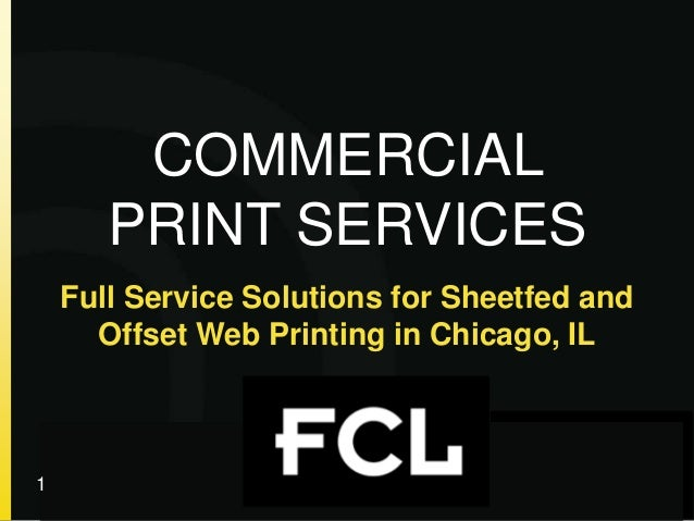 Full Service Solutions for Sheetfed and Offset Web Printing in Chicago, IL © your company name. All rights reserved. Title...