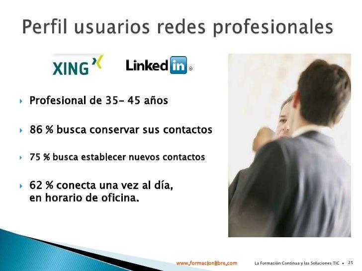 La Formación Continua y las Soluciones TIC  ∙<br />21<br />Software Social<br /><ul><li>Cada vez más para uso profesional