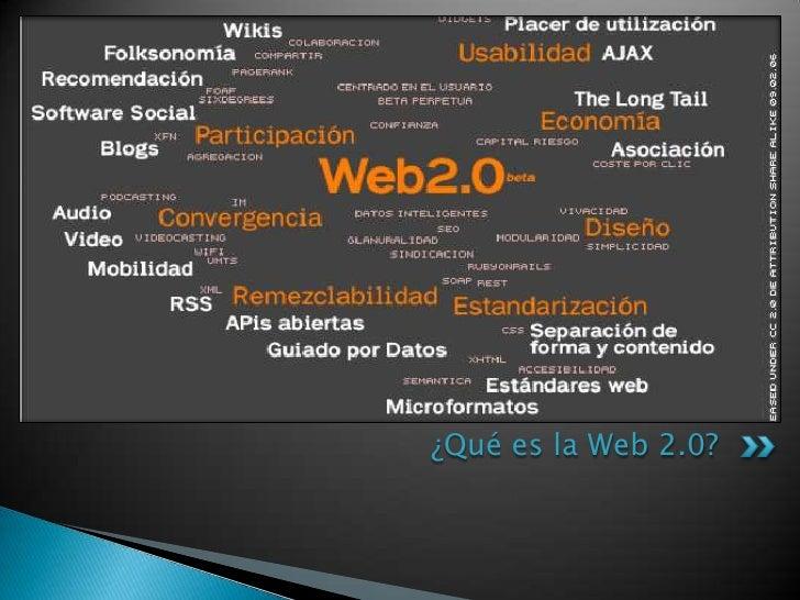 ¿Qué es la Web 2.0?<br />