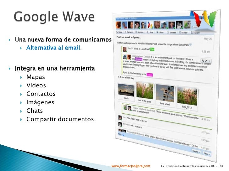 La Formación Continua y las Soluciones TIC  ∙<br />27<br />Microbloging: Twitter<br />www.formacionlibre.com<br />