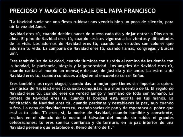 Frases Del Papa Francisco De La Navidad.Mensaje De Navidad Papa Francisco I Diciembre 2013