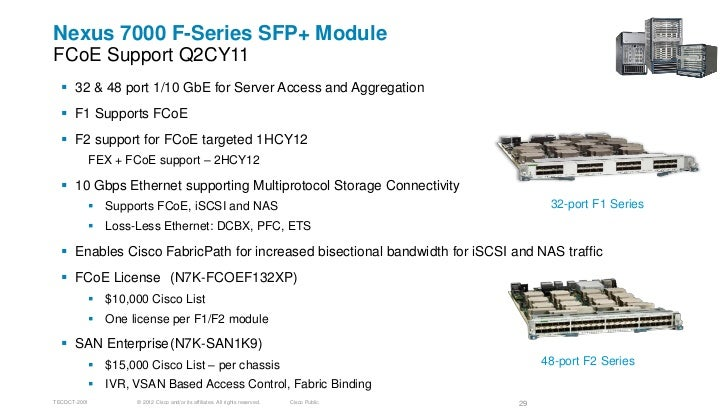 Fiber Channel over Ethernet (FCoE) – Design, operations and