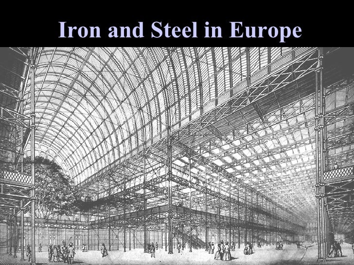 Iron and Steel in Europe