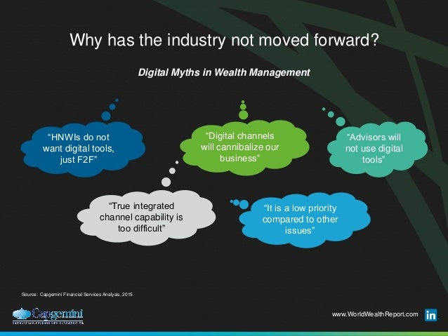 Digital Disruption in Wealth Management - FinanceConnect Singapore