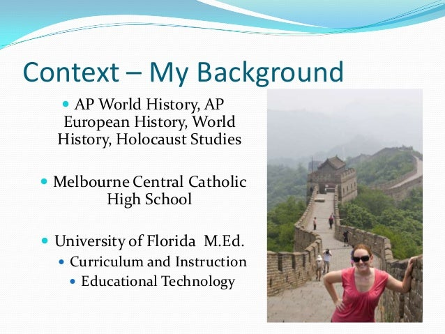 Fcss 2013 presentation integrating digital concept mapping apps in created in grafio 3 context my background ap world history gumiabroncs Images