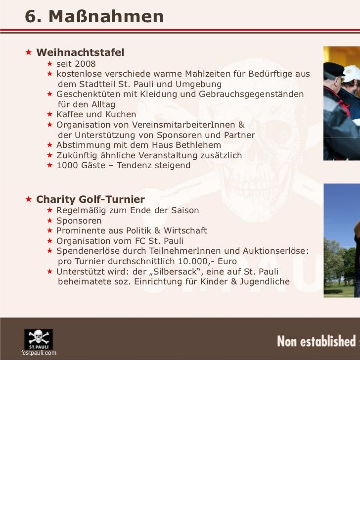 corporate responsibility beim fc st pauli ma nahmen statt hochglan. Black Bedroom Furniture Sets. Home Design Ideas