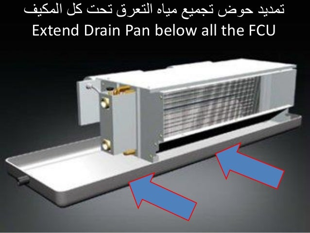 Fcu Arrangement Amp Condensat Drain Challenges By Getco