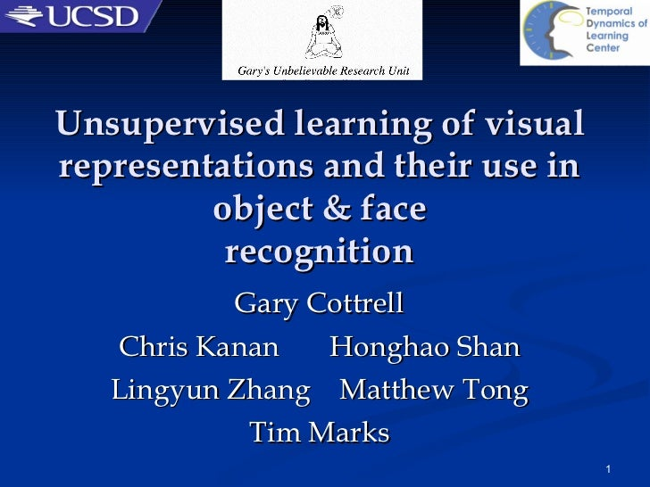 Unsupervised learning of visual representations and their use in object & face recognition Gary Cottrell Chris Kanan  Hong...