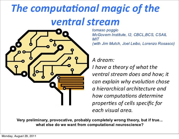 The	  computa,onal	  magic	  of	  the	                  ventral	  stream                                                  ...