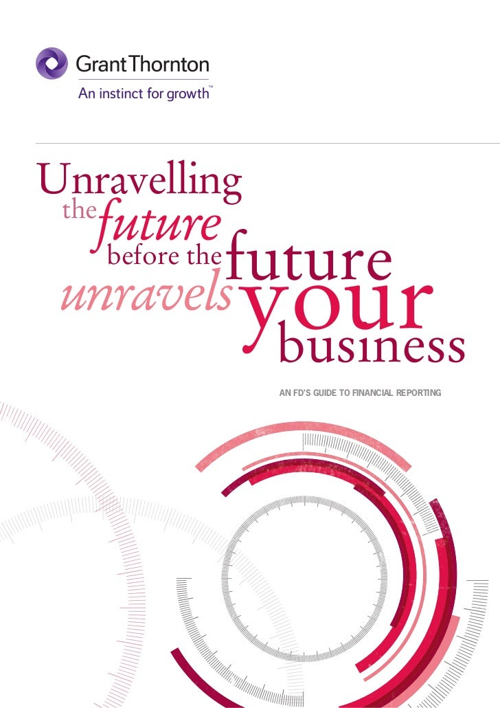 Unravelling  future the              future           your   before the unravels                business              AN F...