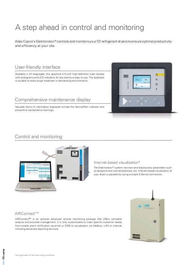 fd refrigerant air dryer 2935 0582 10 rh slideshare net Atlas Copco Air Dryers Manuals Copco Utility Atlas Xas185jdu