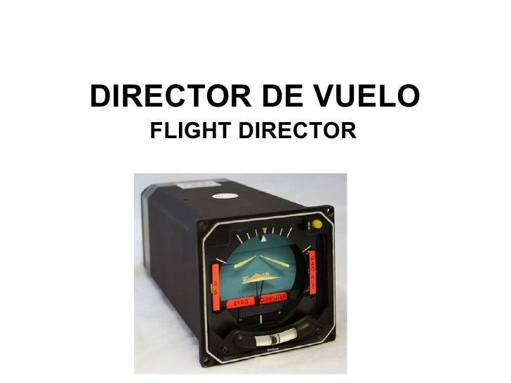 DIRECTOR DE VUELO FLIGHT DIRECTOR