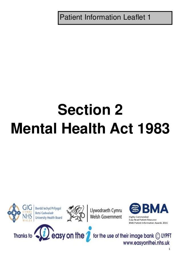 MHA Section 2 - Leaflet 1