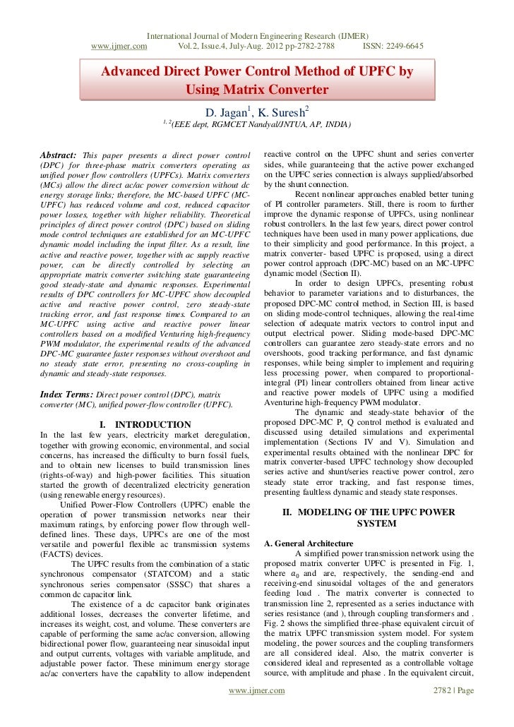 International Journal of Modern Engineering Research (IJMER)              www.ijmer.com            Vol.2, Issue.4, July-Au...