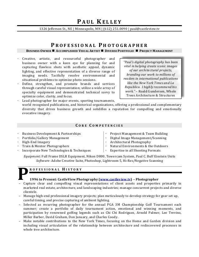 paul kelley resume