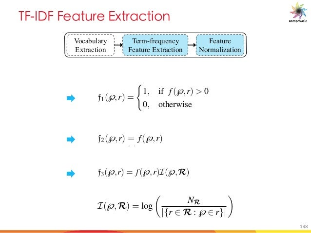 E 6 M a 7d MO U[ Vocabulary Extraction Term-frequency Feature Extraction Feature Normalization ies except the ones that co...