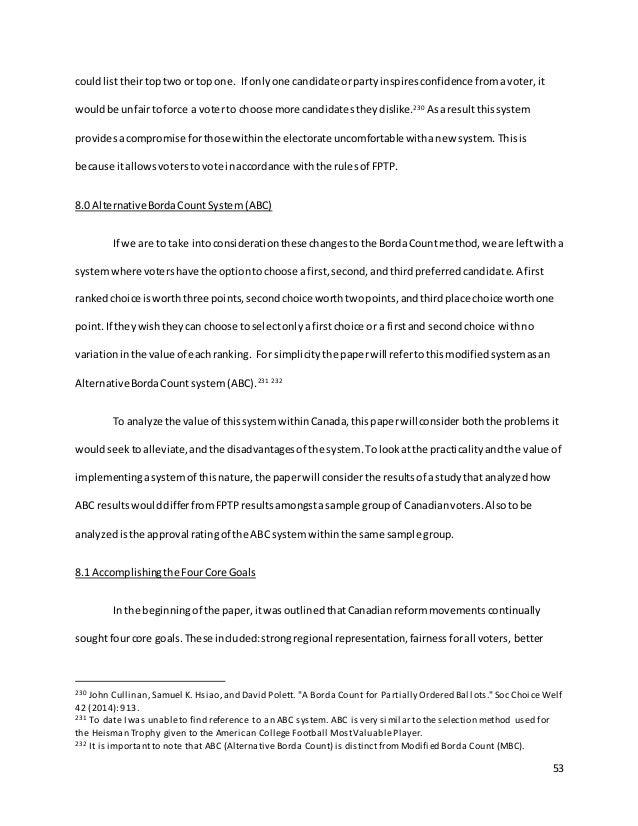 Jay Fallis MRP (Alternative Borda Count) Final Copy