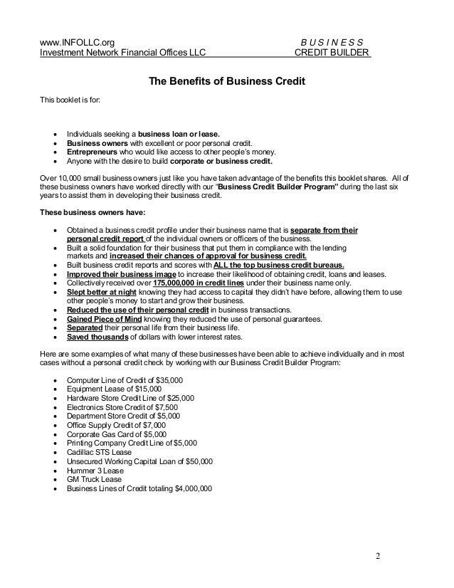 Business credit builder program v 1 1 business credit builder program 2 reheart Image collections