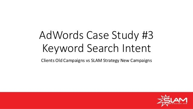 AdWords Case Study Webinar